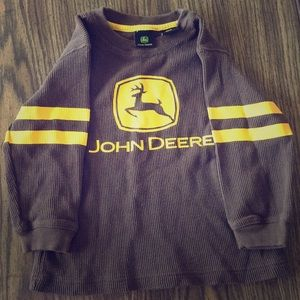 3T long sleeved John Deere shirt.